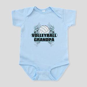 Volleyball Grandpa (cross) Infant Bodysuit