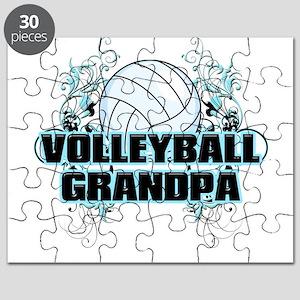 Volleyball Grandpa (cross) Puzzle