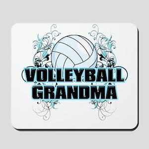 Volleyball Grandma (cross) Mousepad