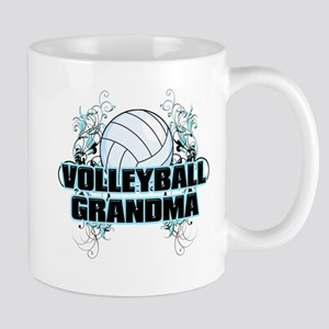 Volleyball Grandma (cross) Mug