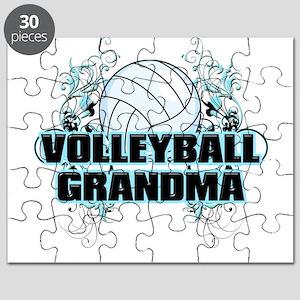 Volleyball Grandma (cross) Puzzle
