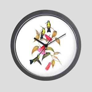 Hummingbirds Wall Clock
