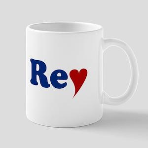 Rey with Heart Mug