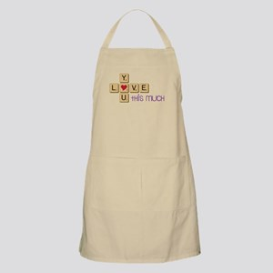 Love You This Much Apron