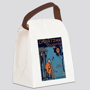 Chinatown Canvas Lunch Bag