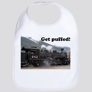 Get puffed! Colorado steam train 2 Bib