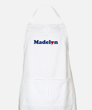 Madelyn with Heart Apron