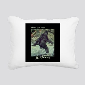 Have You Seen BIGFOOT? Rectangular Canvas Pillow