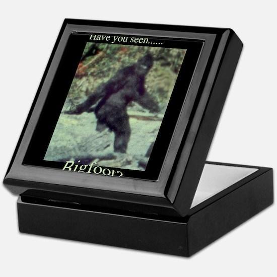 Have You Seen BIGFOOT? Keepsake Box