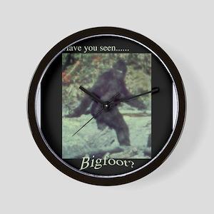 Have You Seen BIGFOOT? Wall Clock