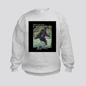 Have You Seen BIGFOOT? Kids Sweatshirt