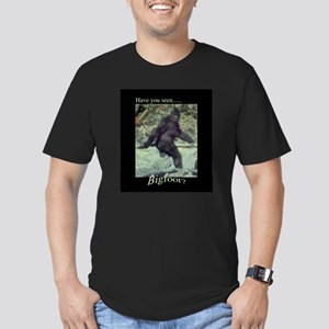 Have You Seen BIGFOOT? Men's Fitted T-Shirt (dark)