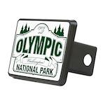 Olympic National Park Green Sign Rectangular Hitch