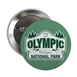 "Olympic National Park Green Sign 2.25"" Button"
