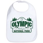 Olympic National Park Green Sign Bib