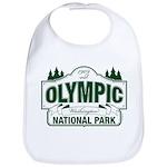 Olympic National Park Green Sign Bib