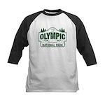 Olympic National Park Green Sign Kids Baseball Jer