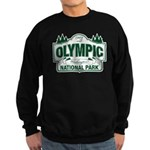 Olympic National Park Green Sign Sweatshirt (dark)