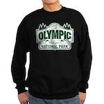 Olympic National Park Green Sign Sweatshirt (dark)