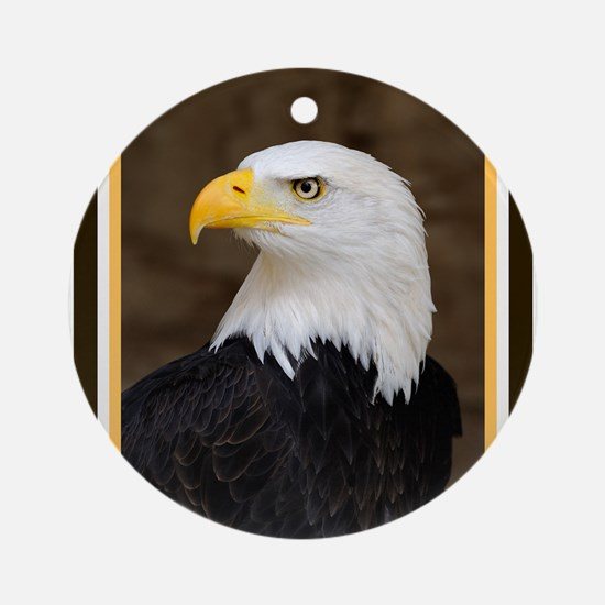 American Bald Eagle Ornament (Round)