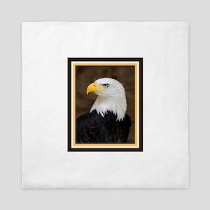 American Bald Eagle Queen Duvet