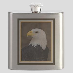 American Bald Eagle Flask