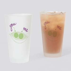 You And Me Drinking Glass