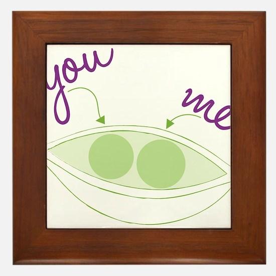 You And Me Framed Tile