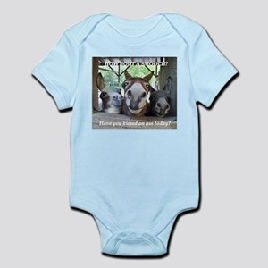 2f89a842999b Donkey Baby Clothes   Accessories - CafePress