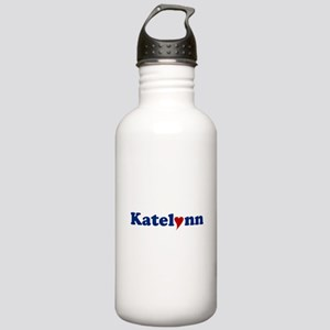 Katelynn with Heart Stainless Water Bottle 1.0L