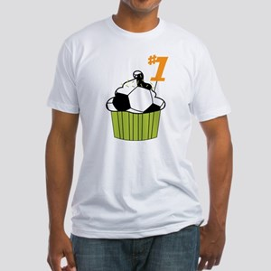 Soccer Cupcake Fitted T-Shirt