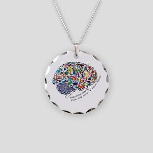 Mind-Life 1 Necklace Circle Charm