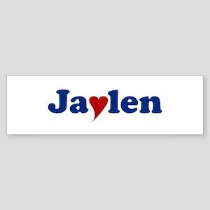 Jaylen with Heart Sticker (Bumper)