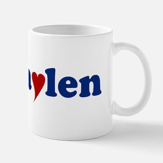 Jaylen with Heart Mug