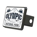Olympic National Park Blue Sign Rectangular Hitch