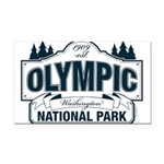 Olympic National Park Blue Sign Rectangle Car Magn
