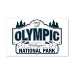 Olympic National Park Blue Sign Car Magnet 20 x 12