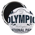 Olympic National Park Blue Sign Magnet