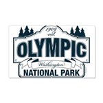 Olympic National Park Blue Sign 20x12 Wall Decal