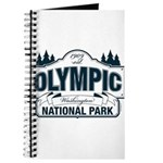 Olympic National Park Blue Sign Journal