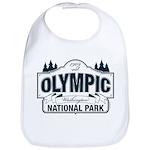 Olympic National Park Blue Sign Bib