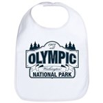 Olympic National Park Blue Sign Bib