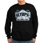 Olympic National Park Blue Sign Sweatshirt (dark)