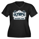 Olympic National Park Blue Sign Women's Plus Size