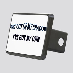 Out of My Shadow Rectangular Hitch Cover