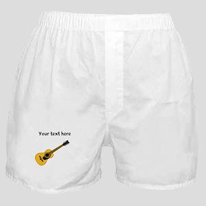 Customizable Guitar Boxer Shorts