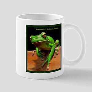 You must feel the force....hmmm. Mug