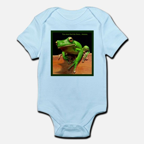 You must feel the force....hmmm. Infant Bodysuit