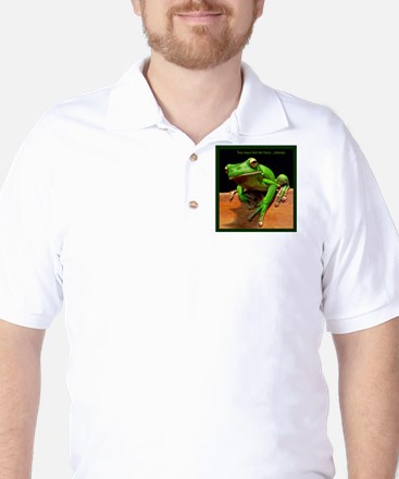You must feel the force....hmmm. Golf Shirt