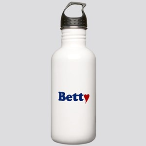 Betty with Heart Stainless Water Bottle 1.0L
